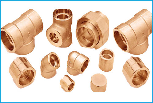 COPPER- NICKEL 90/10 SOCKET FORGED FITTINGS