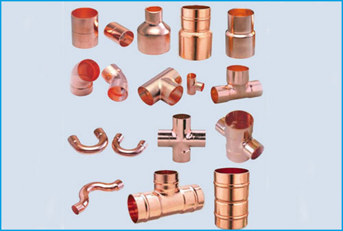 COPPER TUBE FITTINGS AND PIPE FITTINGS